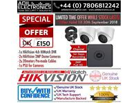 Hikvision 2 Cameras 2MP Turbo-HD HiWatch Full CCTV Kit - *SPECIAL OFFER*