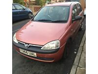 Vauxhall corsa 2001 very cheap £250ono