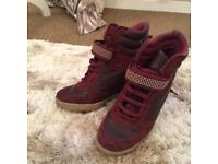 River island high tops size 4