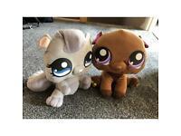 "Littlest petshop soft toys 13"""
