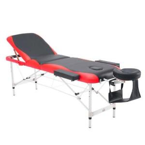 SALE @ WWW.BETEL.CA || 40% OFF || FREE DELIVERY || Ultra Portable 3-Section Massage Table and Accessories