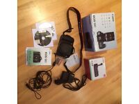 Canon EOS 50D with Canon 50mm f1.8 Lens, Canon Battery Grip and extras
