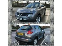 Nissan Juke 2013 63 plate 24000 miles Grey (petrol) 2 owners