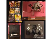Pink PlayStation 2