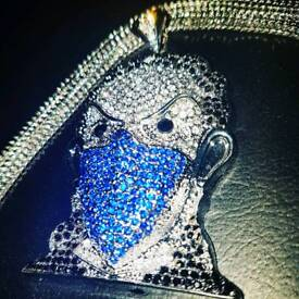 Iced Out pendant and Chain