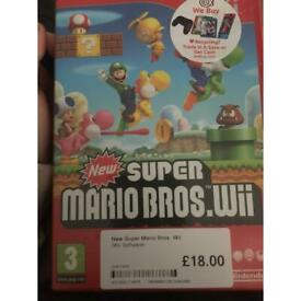 Mario bros game for wii