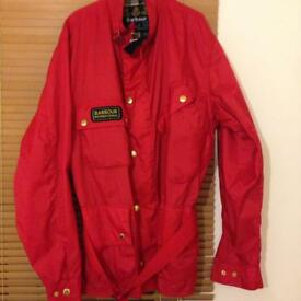 Barbour international light weight jacket