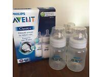 Philips Avent Classic 260ml Feeding Bottles (3 Pack)