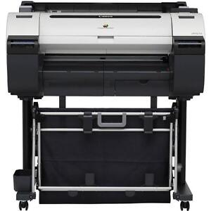"""Canon imagePROGRAF iPF670 24"""" Large-Format Inkjet Printer Plotter With Stand"""