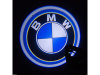 2 x BMW 3D COB LED DOOR LOGO COURTESY LIGHT LASER GHOST PROJECTOR SHADOW PUDDLE LAMPS