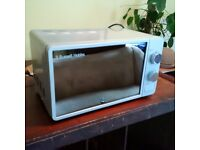practically new Russell Hobb microwave oven