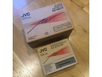JVC Multi-Changer Contol Receiver and 12 Disc Changer
