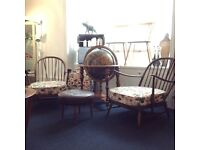 Vintage Ercol Windsor Armchair (two available) Beautiful Condition