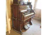 ORGAN FOR SALE IN NEED OF SOME ATTENTION NEEDS TO BE PICKED UP ONLY FROM LYTHAM