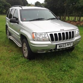 2003 Jeep Grand Cherokee 2.7 CRD Limited Edition