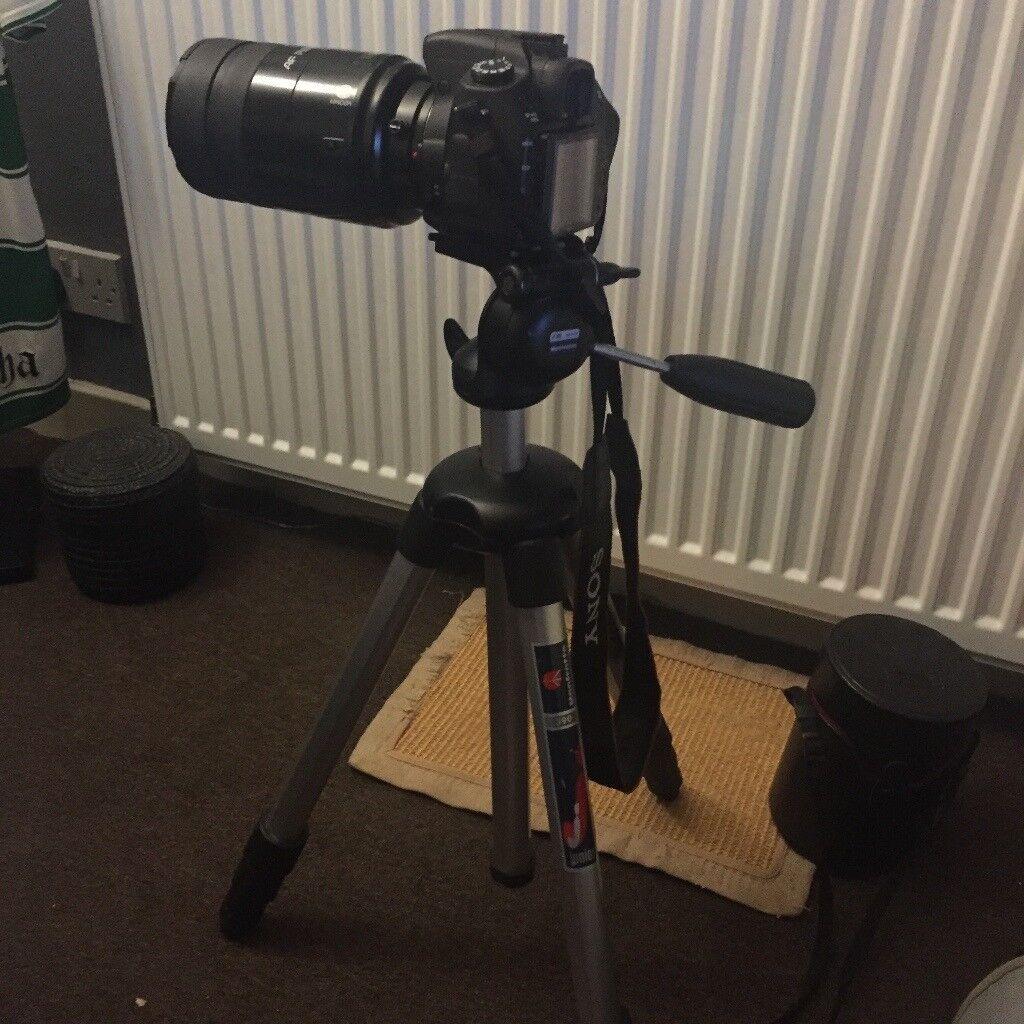 Sony alpha350 autofocus digital camera