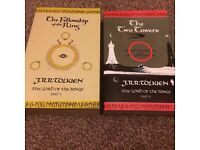 The Fellowship of the Ring Part 1 And The Two Towers Part 2 by J. R. R. Tolkien