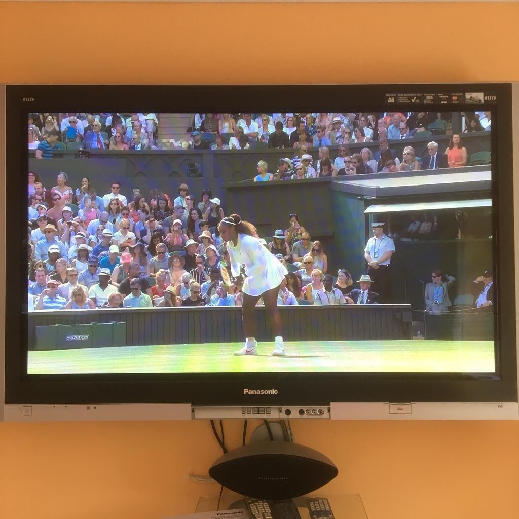 Panasonic 50 inch HD plasma TV with Manual, Remote & Wall bracket | in  Woking, Surrey | Gumtree