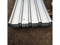 GALVANISED BOX PROFILE ROOF SHEETS = NEW 🔨