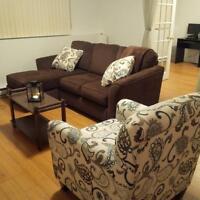 1 bedroom + 1 den apartment on Jones Lake