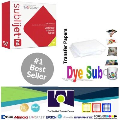Sawgrass Virtuoso Sublimation Ink Cartridge Sg400sg800 Yellow100 Sh Sublipaper