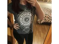 Grey Horoscope Zodiac T Shirt
