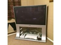 "Panasonic 50"" HD TV with stand"