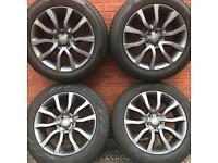 Set Genuine Range Rover Sport Vogue 20 inch Alloy Wheels Discovery alloys rims 255 55 20