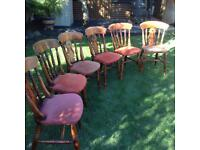 Pine chairs