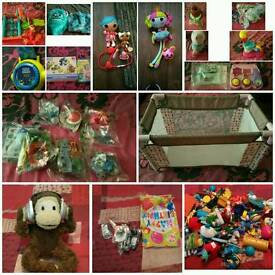 Job lot of toys