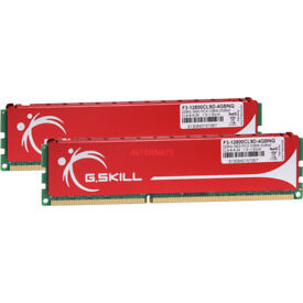 Two G.SKILL memory. F3-12800CL9D-4GBNQ. DDR3
