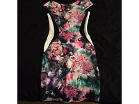 Chase7 floral dress size 10