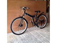 Folding Mountain Bike, very good condition.