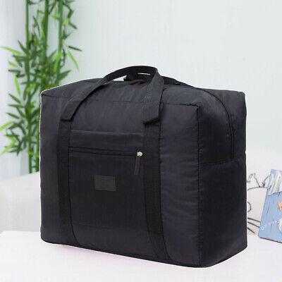 Packable Travel Duffel Bag Waterproof Nylon Foldable Carry Package Versatile HT