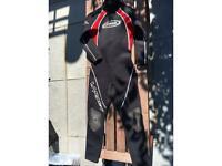 Kids Alder titanium long wetsuit size M