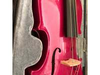 3/4 Harlequin Stentor Raspberry Pink Violin