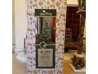 Christmas trees and decorations for sale