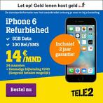 Refurbished iPhone 6 Super deal! Inclusief abonnement