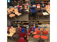 Job Lot - 40 mixed metal chairs for Cafe, restaurant, club
