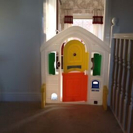 Children's Play Door, with opening and closing Windows.