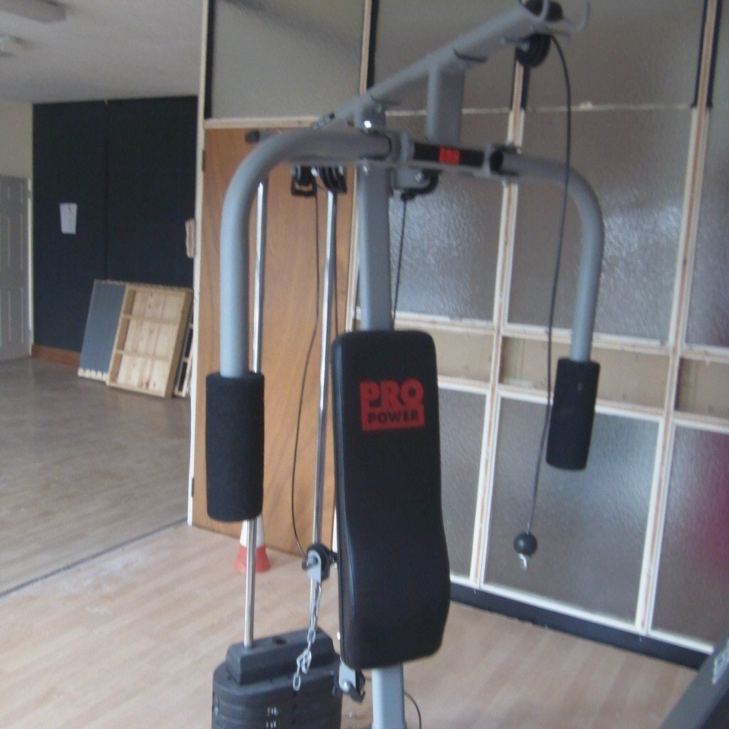Pro power compact home gym with weights in cookstown