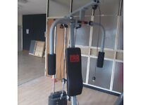 Pro Power Compact Home Gym with 7 weights.