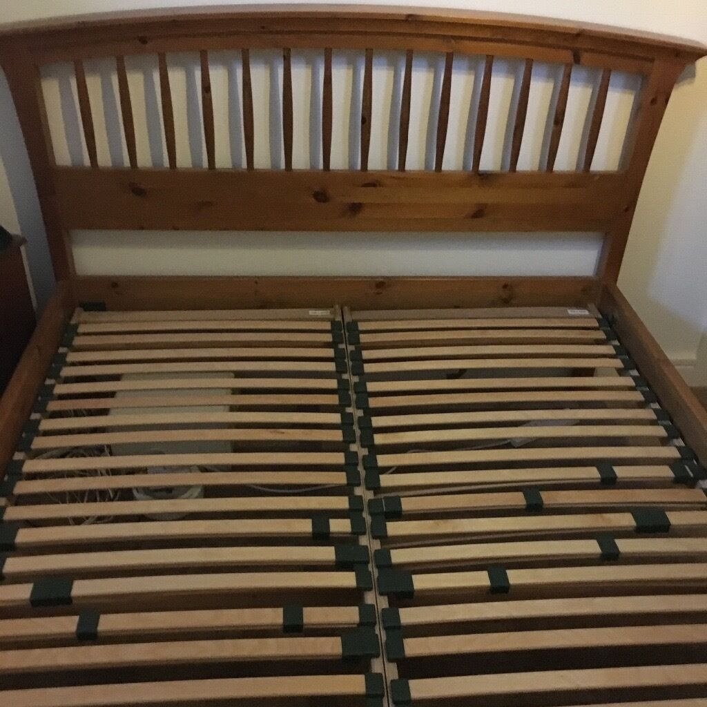 Ducal king size pine bed frame