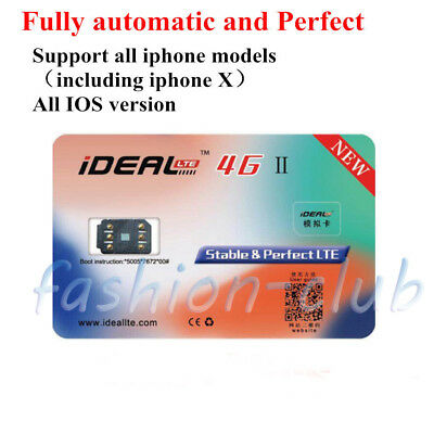 2017 Ideal Turbo Sim Unlock 4G Gpp Sim Card For Iphone X 8 7 6S Plus   Se 5S 5C