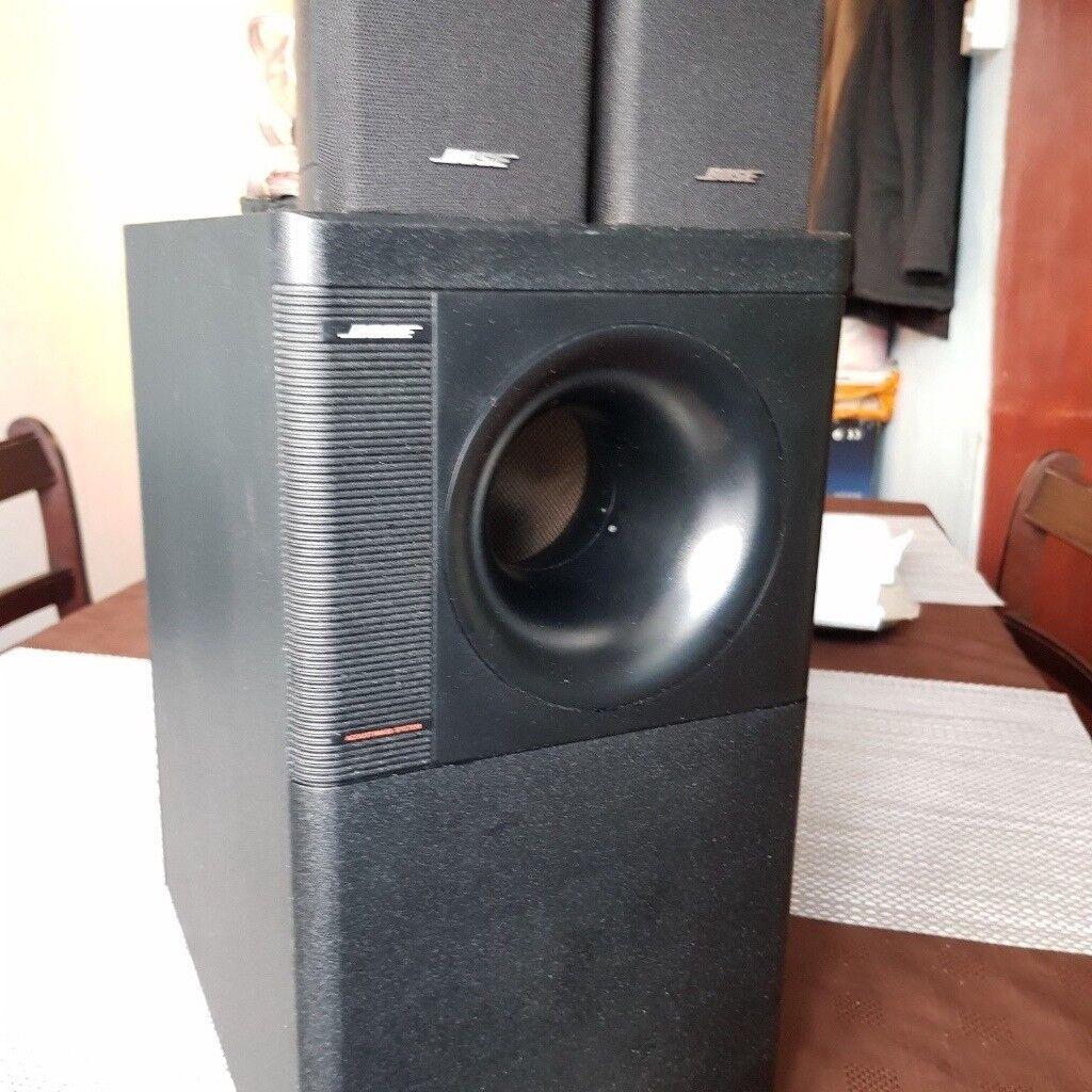 bose acoustimass 3 series iv speaker system in blackpool. Black Bedroom Furniture Sets. Home Design Ideas