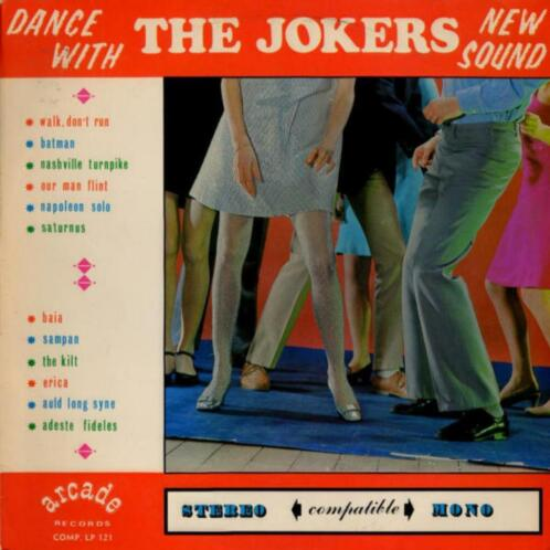 "The Jokers - ""New Sound"" - Made in Belgium!"