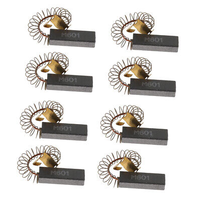 8 Pcs Dog Grooming Tools Force Hair Dryer Parts - Carbon Brush 6.5x11.5x32mm
