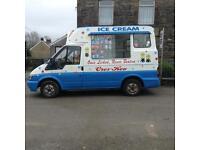 2001 Ford Transit Hard Ice Cream Van