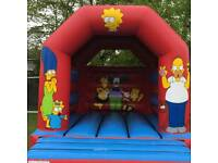 Bouncy castle and face painting hire