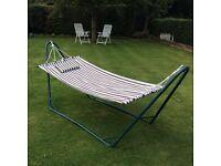 Freestanding Garden Hammock 250cm length Coulsdon Croydon Great Fun